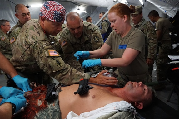 Medical Soldiers skills tested at Regional Medic