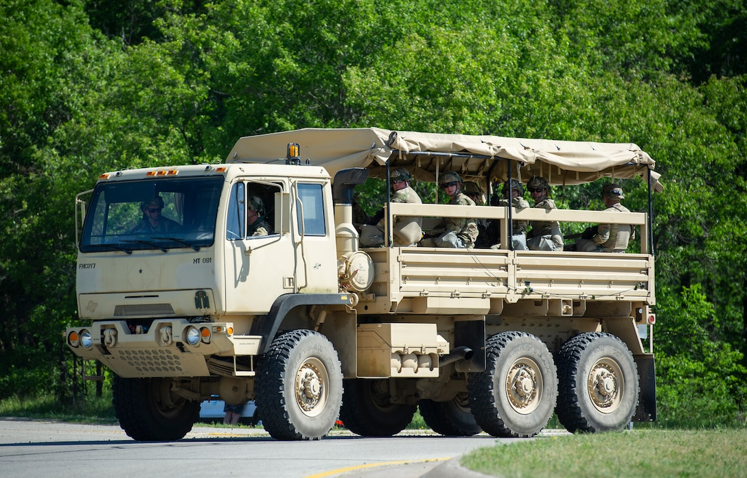 Convoy Operations During WAREX at Fort McCoy