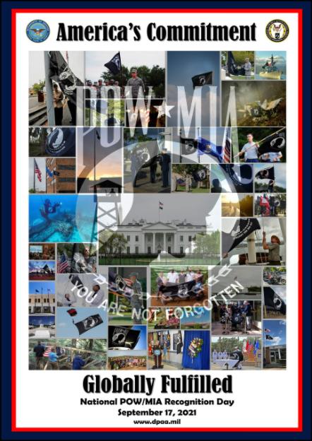 2021 POW MIA Poster