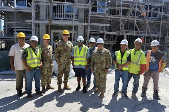 U.S. Army Garrison-Kwajalein Atoll Commander Visits Ebeye
