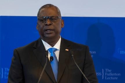 Austin Emphasizes Partnership in Singapore Speech