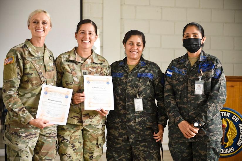Strengthening partnership: JTF-B provides SHARP training for Honduran forces
