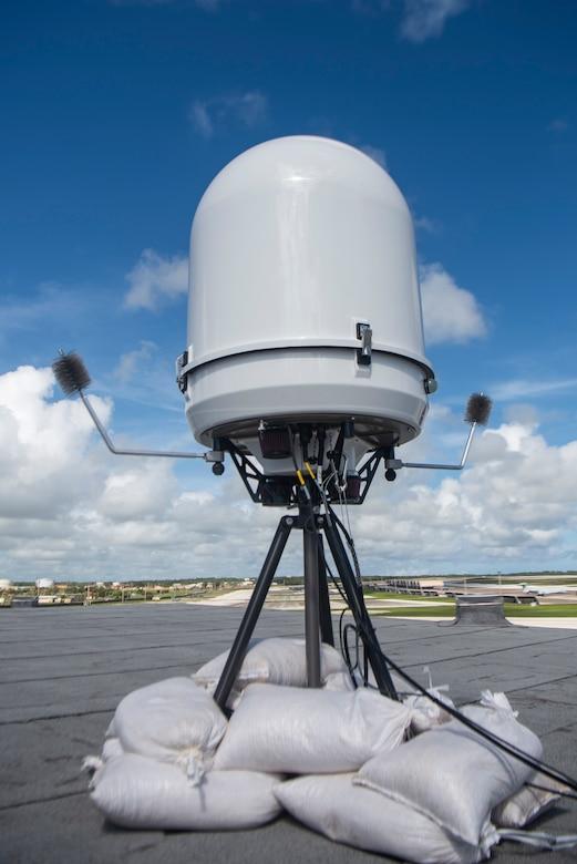 Picture of portable Doppler radar