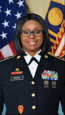 Command Sergeant Major Della S. Overton