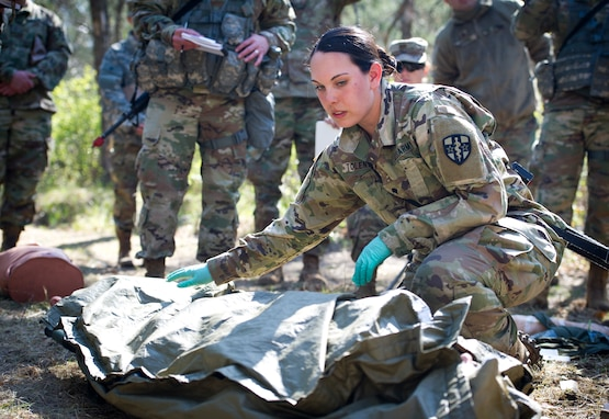 Expert Field Medical Badge Testing at Fort McCoy