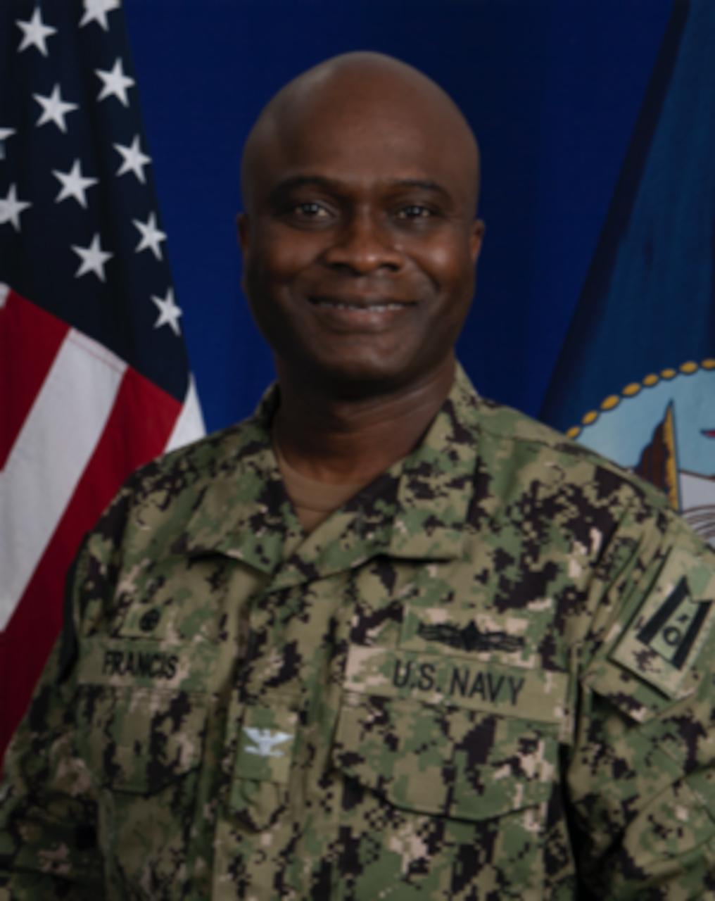 Studio portrait of Capt. Robert C. Francis Jr