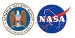 NSA and NASA logo graphic
