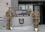 District of Columbia National Guard leadership surveys the future site of the District of Columbia National Guard recruiting storfront in Washington, D.C., July 28. The storefront office, which is leased on behalf of the D.C. Army National Guard by the Baltimore District of the U.S. Army Corps of Engineers through their Real Estate mission, will provide a more accessible location to potential recruits in the District.  (U.S. Air National Guard photo by Staff Sgt. Anthony Small)