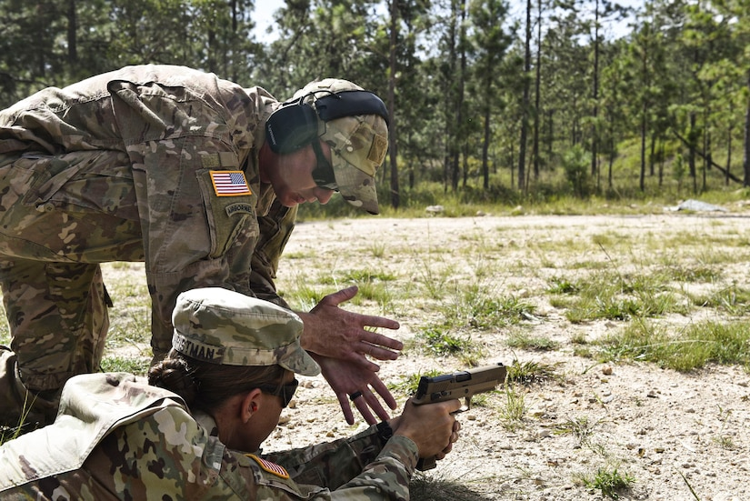 Building readiness: Joint service members qualify on M17