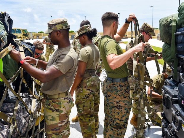 412th TEC's DCP 1 Preps for International Mission