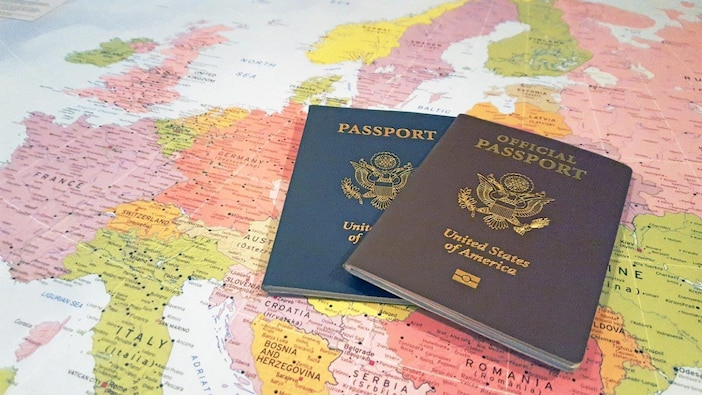 """Coming to US Army Europe and Africa through Germany? - Do you have a """"Brown"""" Passport?"""