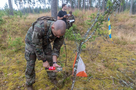 Interallied Confederation of Reserve Officers military competition training event in Finland