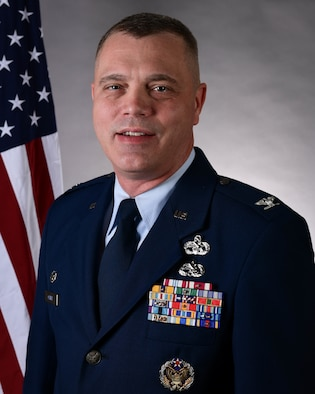 113th Wing Vice Commander, Col Michael Oliver