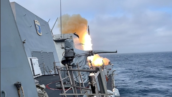 USS Spruance (DDG 111) Conducts Live-Fire with a Purpose