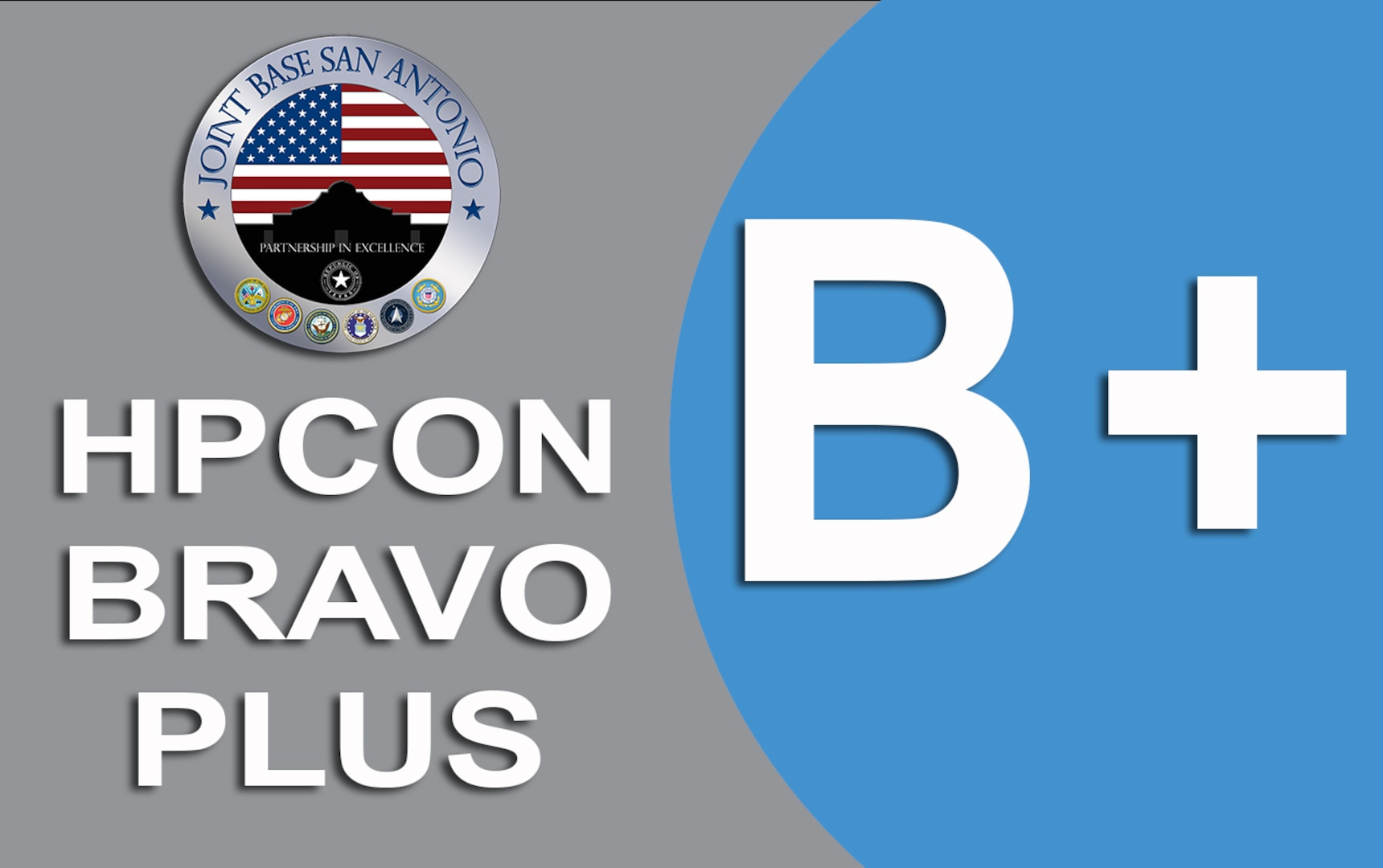 Health Protection Condition BRAVO PLUS