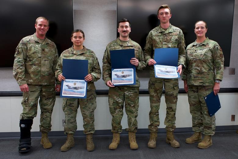 Total Force C-17 crew chiefs earn JBER Pride of the Fleet laurels