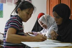 U.S. Army Civil Affairs works to empower women in Djibouti