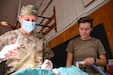 Maj. Emilee Alms, an Army Reserve veterinarian from Arden Hills, Minn., assisted by Spc. Jayden Vergara, an Army Reserve animal care specialist from Logan, Utah, conducts a spay surgery on a kitten during a veterinary clinic offered by the Army Reserve's 7214 Medical Support Unit and 7351 Veterinary Detachment as part of Operation Walking Shield, an Innovative Readiness Training Event held at the Fort Belknap Reservation, Montana, July 18-31.  The Department of Defense sponsored event partnered the Army Reserve Medical Command units, based in Garden Grove, Calif., with the Fort Belknap Agency and Hays Clinic to offer no cost medical, dental, optical and veterinary services to the tribal community while offering real world training opportunities for Army Reserve medical Soldiers to ensure deployment readiness while addressing needs within America's local communities.