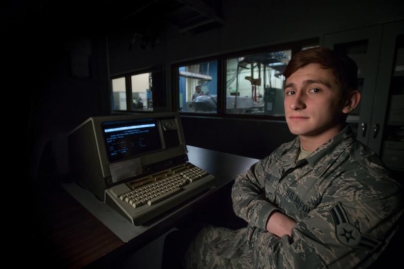 Airman 1st Class Michael Claus
