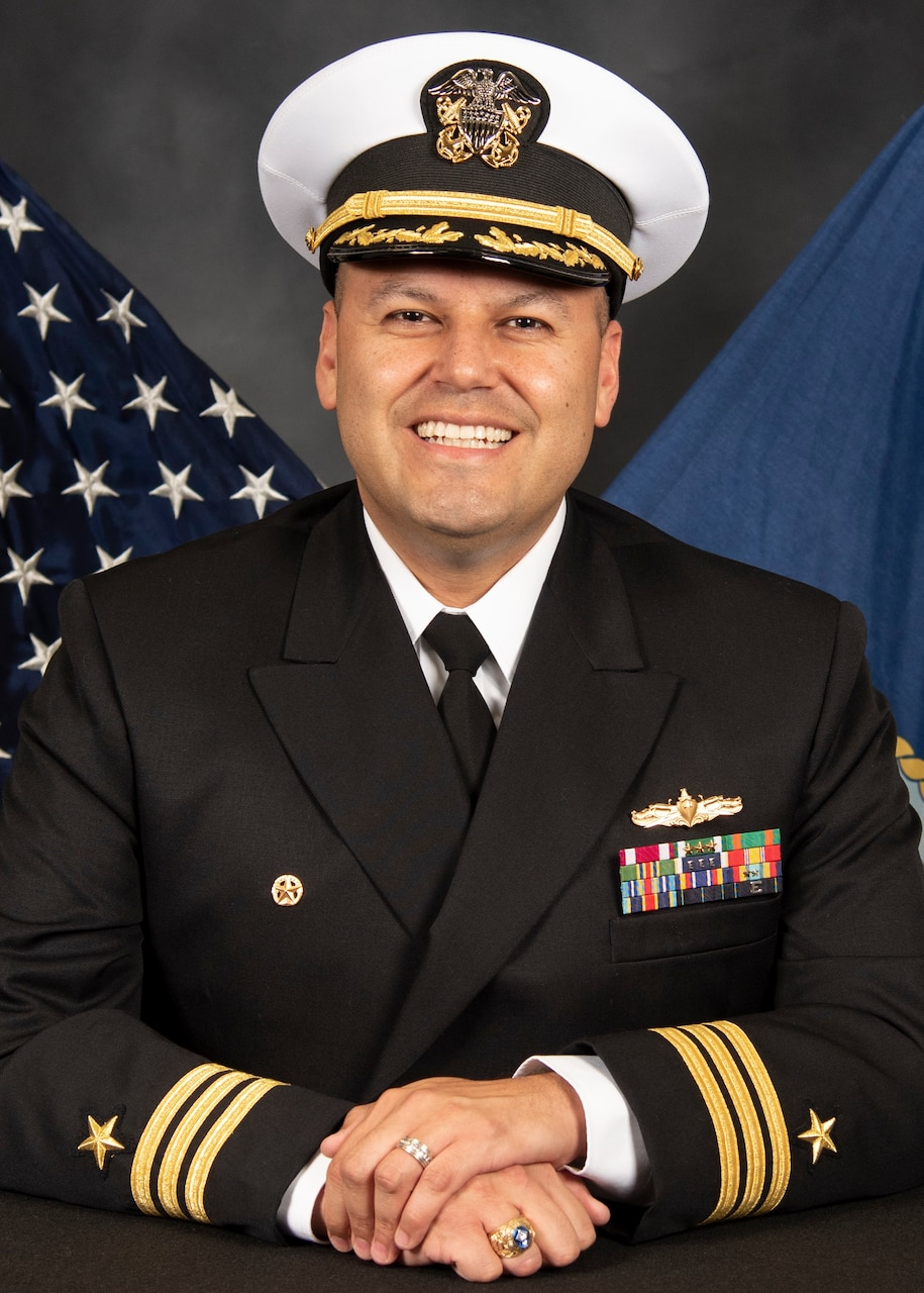 Commander Clayton Beas