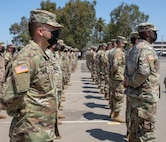 319th Expeditionary Signal Battalion farewell ceremony