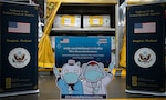 1.5 Million Pfizer Vaccine Doses, Donated by the United States, Arrive in Thailand.