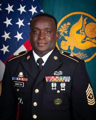Sergeant Major Roddue D. Hamilton
