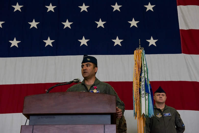 51st Operations Group held a change of command ceremony at Osan Air Base, Republic of Korea, May 28, 2021. Col. David Raymond transferred command of the 51st OG to Col. Matthew Gaetke.