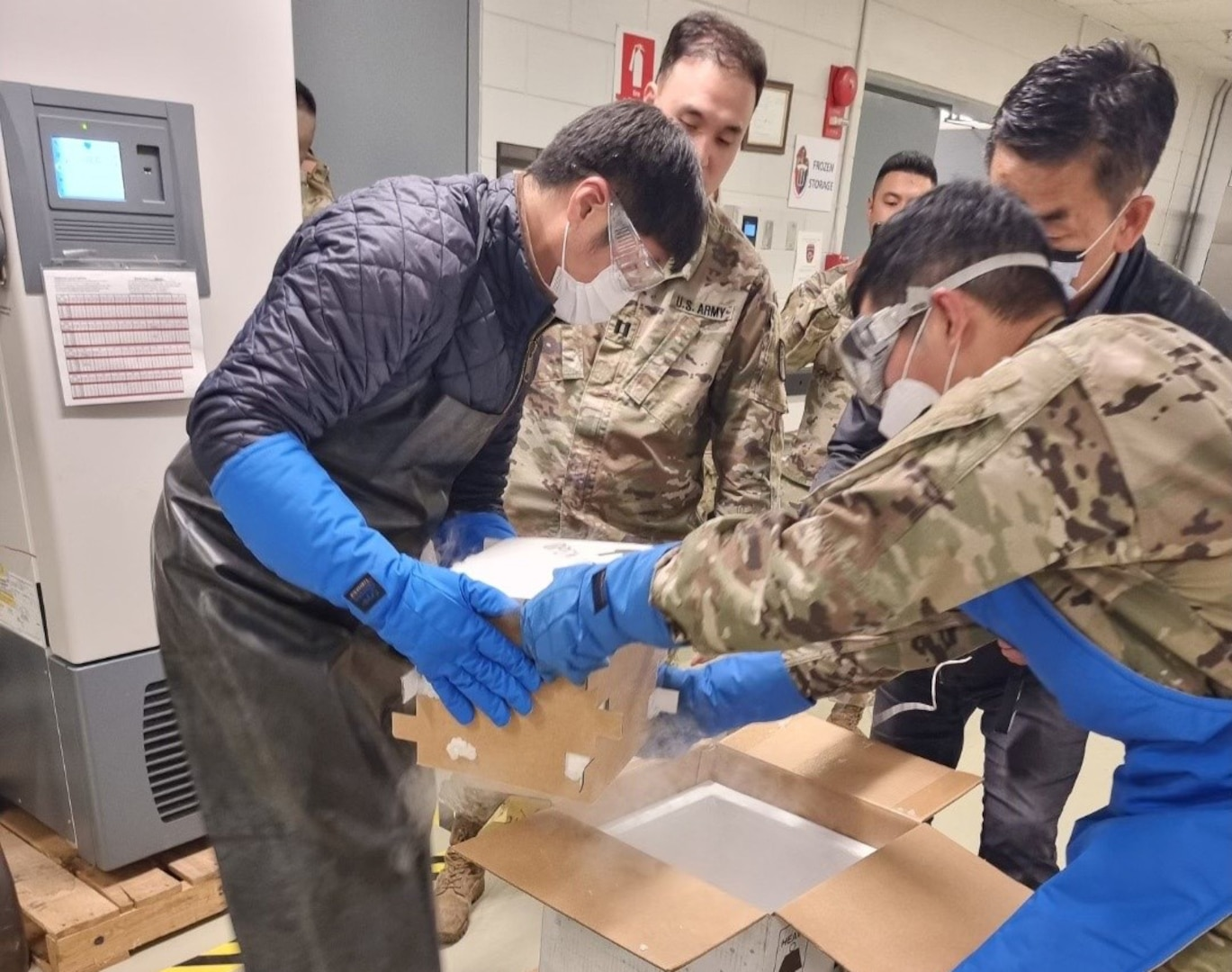 South Korea military base receives Pfizer vaccines from DLA for DoD adolescents