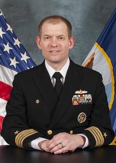 Studio portrait of Capt. Todd Zenner