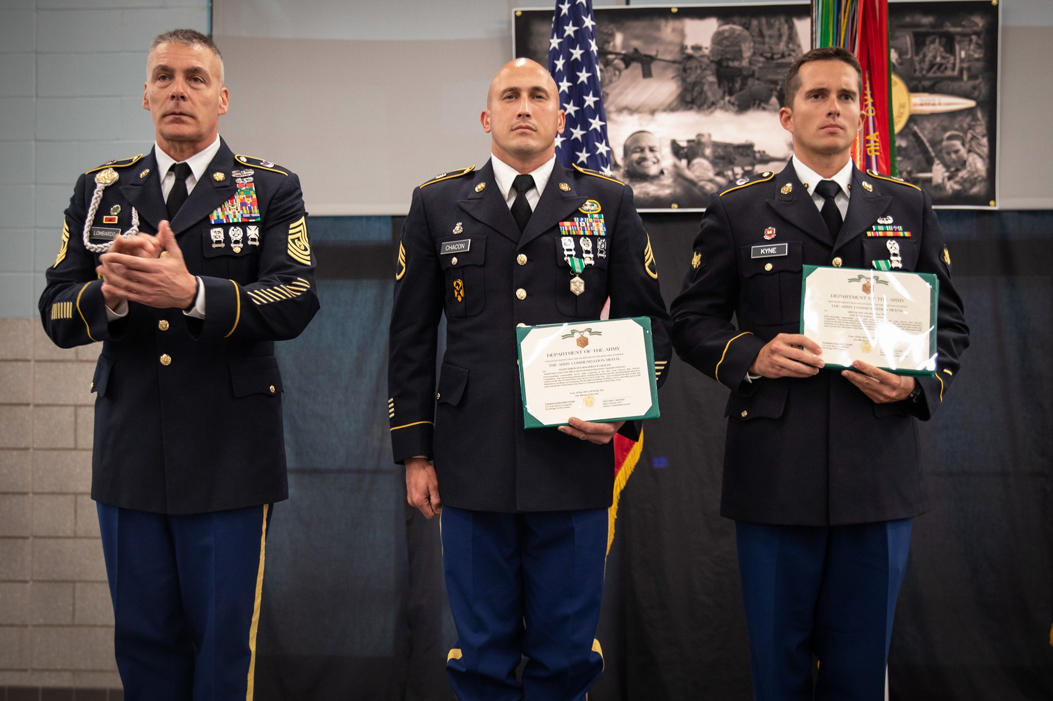 2021 Army Reserve Best Warrior Competition Winners