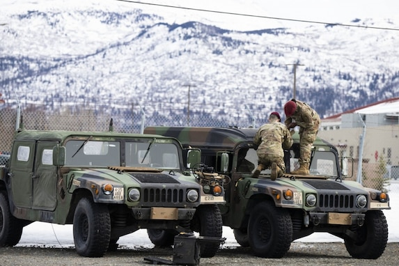 Over the course of two months, the 402nd Army Field Support Brigade implemented the Army's latest initiative to support Soldiers with the establishment of Modernization, Displacement, and Repair Sites in Hawaii and Alaska. Also known as MDRS, these sites contribute to Army modernization in the Indo-Pacific Region.