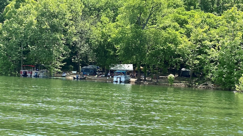 The U.S. Army Corps of Engineers Nashville District announces that Center Hill Lake has streamlined its process to book primitive campsites during the 2021 recreation season. (USACE Photo by Kevin Salvilla)