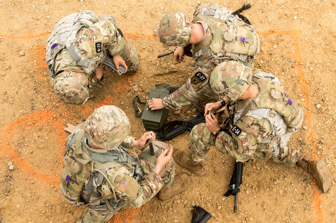 2021 U.S. Army Reserve Best Warrior Competition – M110 Semi-Automatic Sniper System Qualification