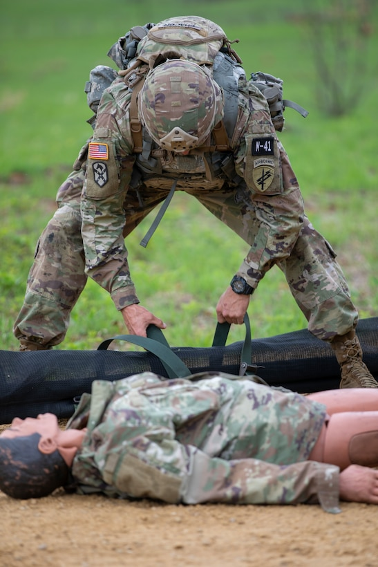 2021 U.S. Army Reserve Best Warrior Competition - Squad Attack Lane