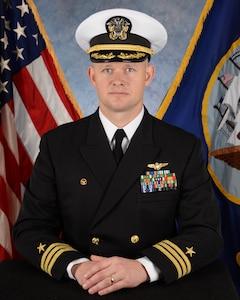 Commanding Officer Cmdr. Brian X. Conlan VUP 19