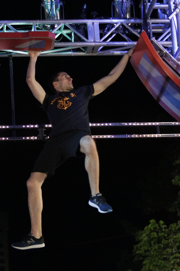 Lt. j.g. Christopher White, stationed at Sector Long Island Sound in New Haven, Connecticut was just named the 2020 Coast Guard Male Athlete of the Year for his superior performance as a ninja warrior—an up-and-coming sport where athletes pass through complex obstacle courses.