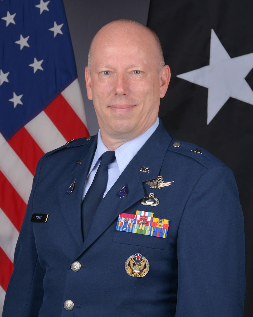 This is the official portrait of Brig. Gen. Stephen G. Purdy, Jr.