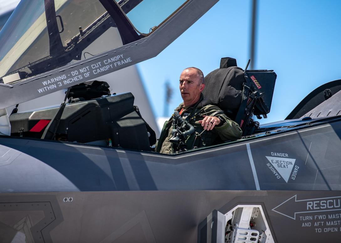 Col. Behmer Fini flight