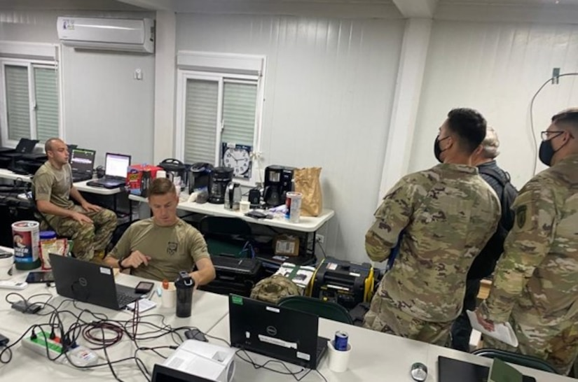 Members from the Army South Operational Protection Directorate conducted a staff assistance visit in Panama May 23-29 to assist U.S. Army Soldiers set conditions for adequate anti-terrorism, force protection, personnel recovery, medical care and medical evacuation tasks at the Brigada Oriental Senafront compound in Meteti and the command and control nodes in Panama City. Multiple exercises and situational event discussions demonstrated the team's capability to employ the full scope of protection requirements.