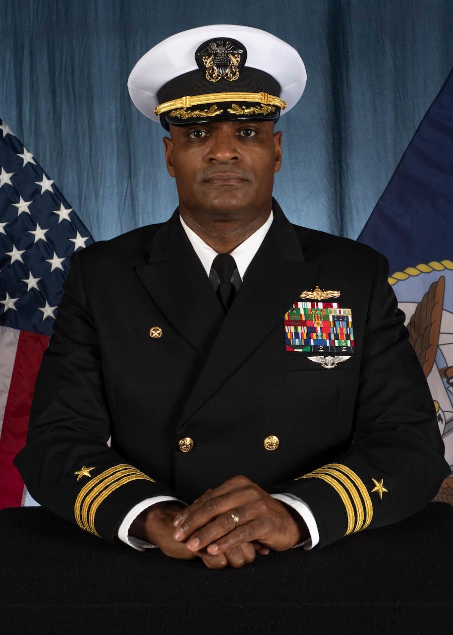 Commander Wilbur R. Hines