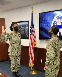 DLA Distribution San Diego's Fulcher promoted to Lt.
