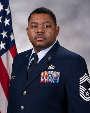 Chief Master Sgt. Gary Thompson official photo.