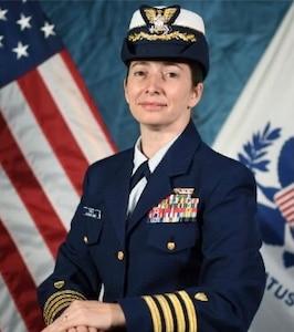 photo of Captain Rebecca A. Drew