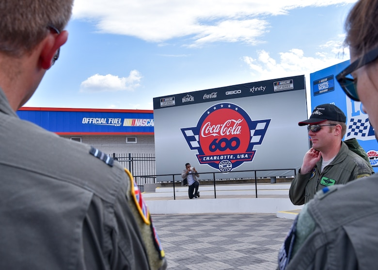 Sheppard Air Force Base T-48 Talons support Memorial Day weekend Coca-Cola 600 NASCAR race