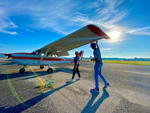 Air Force Force Recruiting Service  Detachment 1 hosts AIM HIGH Flight Academy.