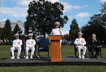 Navy Reserve Law Program Holds Change of Office