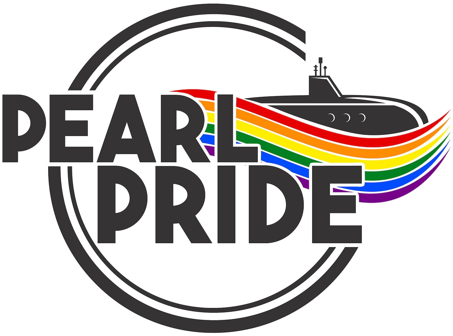 The official Pearl Pride logo.