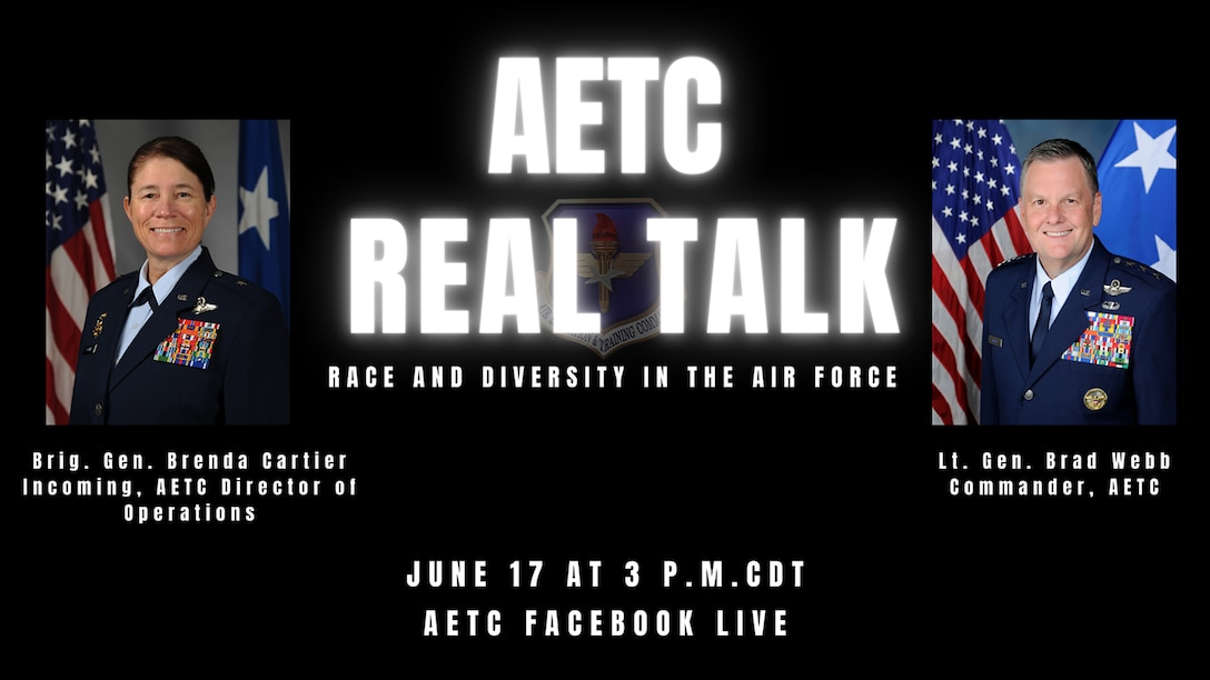 AETC Real Talk Graphic