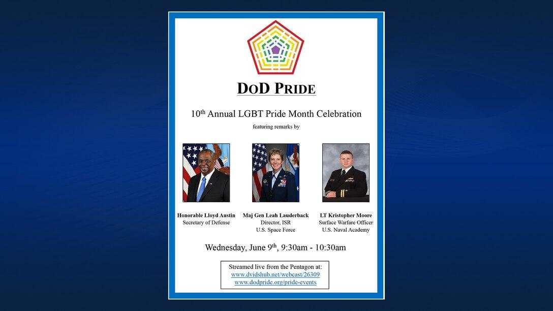 DoD 10th Annual LGBT Pride Celebration